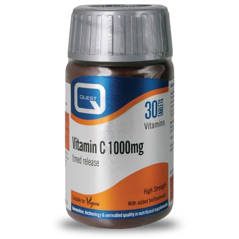 Vitamin C 1000mg timed release